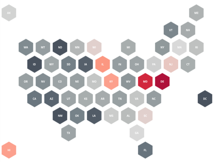 USA Hexmap in Tableau